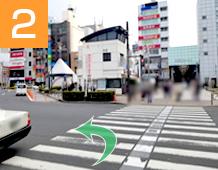 新小岩駅からの道順写真2