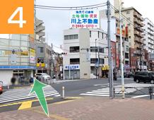 新小岩駅からの道順写真4
