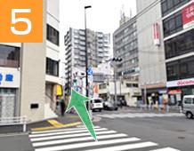 新小岩駅からの道順写真5