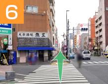 新小岩駅からの道順写真6