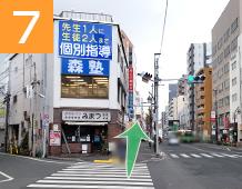 新小岩駅からの道順写真7